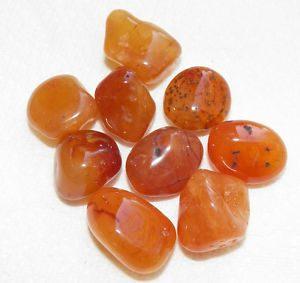 carnelian tumbled stone 2